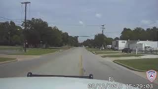 Lufkin Police Vehicle Chase - 8-13-18