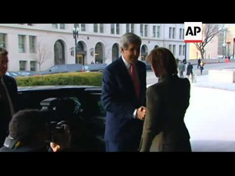 USA - Inauguration of President Obama, Denis McDonough to be his next Chief of Staff, and John Kerry