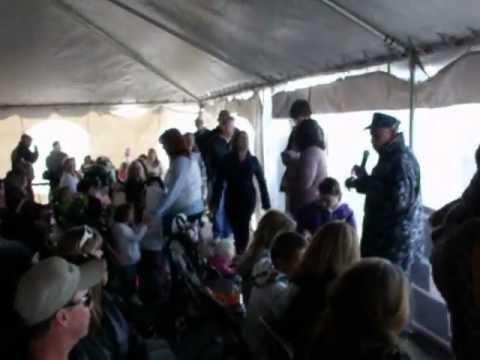 2012 USS Norfolk Homecoming - The Chaplain