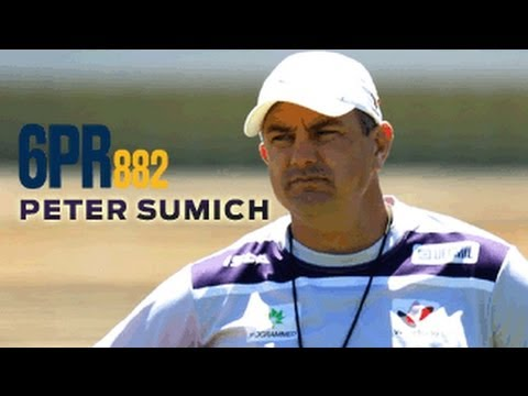 Peter Sumich on 6PR - 15.04.13
