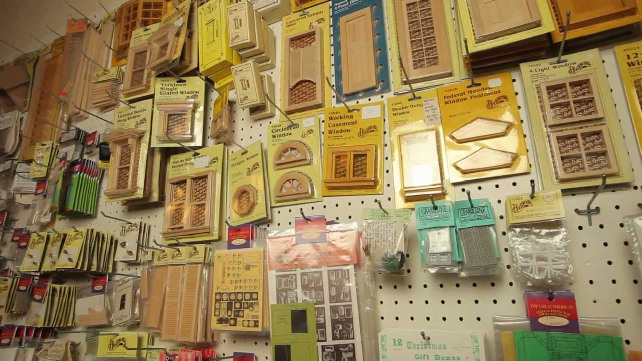 Dollhouse Miniatures Shop Store - YouTube