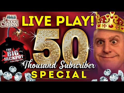 🔴 50000 Subscriber Live Slot Play Alert 💣 #finally 🤩 - The Big Jackpot - 동영상