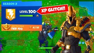*MASSIVE XP GLITCH* HOW TO LEVEL UP FAST IN FORTNITE SEASON 10! (SEASON X)