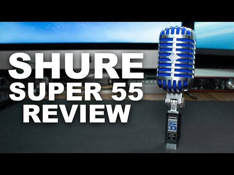 Shure Super 55 Deluxe Vocal Microphone Review / Test