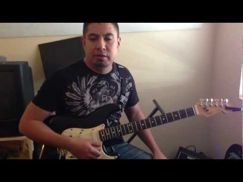 """Holy"" By Matt Redman Guitar Tutorial"