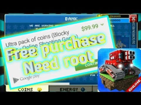 (Blocky cars online)free purchase hack 100%work need ROOT