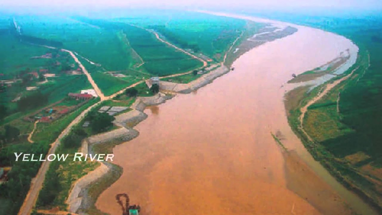 Yellow River World Largest River River YouTube