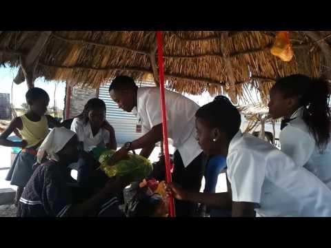 Fillemon Congo shikongo assisting community