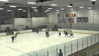 02-09-2014 vs Waunakee lost 2-5 part 1 of 2