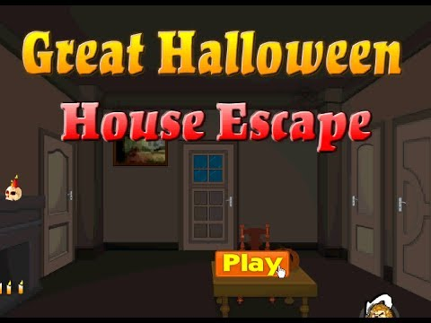 Great halloween house escape walkthrough video youtube for The great escape house