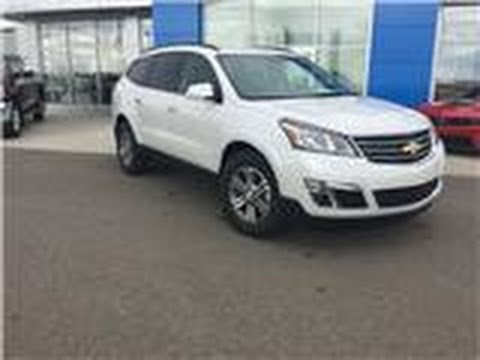2017 White Chevrolet 2lt Traverse Davis Claresholm Calgary Lethbridge
