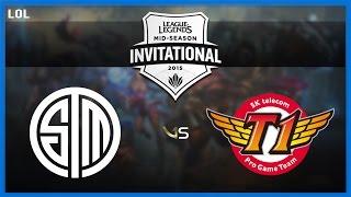 [Game] SKT vs TSM | MSI 2015 - Group Stage | SK Telecom T1 vs Team SoloMid