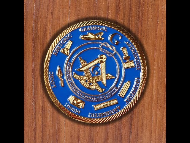 Custom Masonic Coin - Custom Challenge Coins