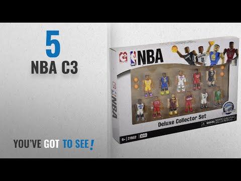 Top 10 NBA C3 [2018]: The Bridge Direct NBA Deluxe Collector Set
