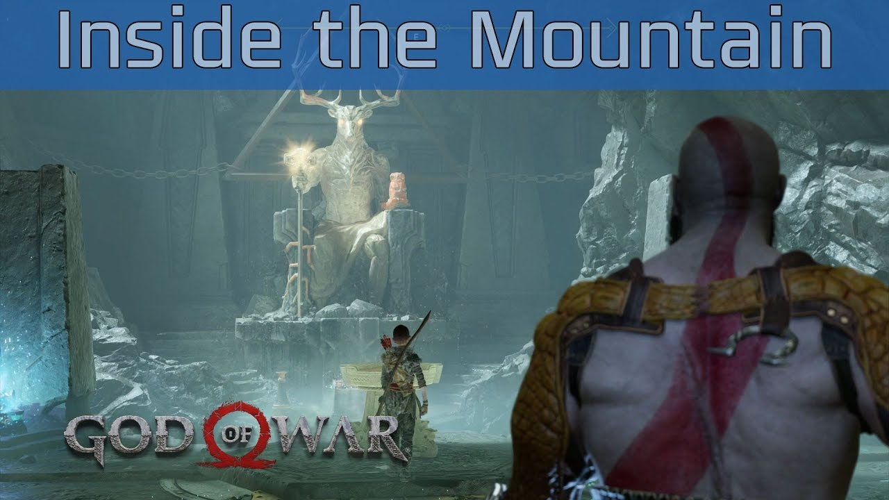 God of War (PS4) - Inside the Mountain Walkthrough [HD 1080P]