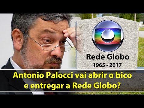 Antonio Palocci vai abrir o bico e entregar a Rede Globo?