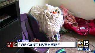 Family says landlord not helping with flooded apartment