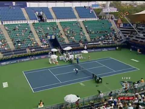 Venus Williams & Alize Cornet WTA Dubai 2009 (Last Game)