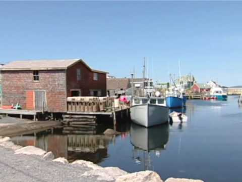 Peggy's Cove - A Picturesque Fishing Village In Nova Scotia