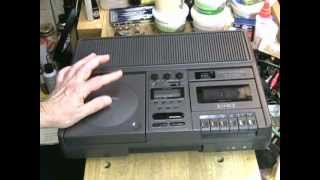 The Mysterious Eiki - Eiki 7070  CD/Cassette Tape Recorder Review
