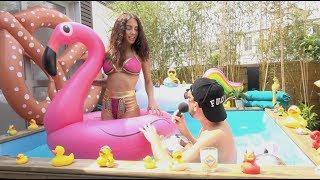 La Pool Party de Manon Marsault et Jeremstar