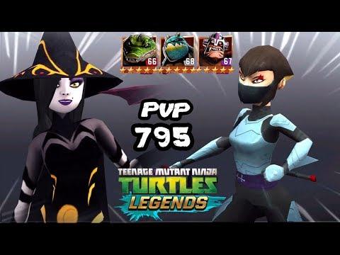 TMNT Legends PVP 795 Shinigami, Karai, Slash, Leatherhead, Dr. Rockwell - Duur: 13:52.