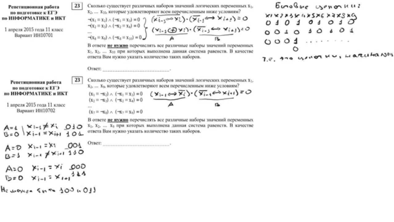 Ответы на статград по информатике 11 класс