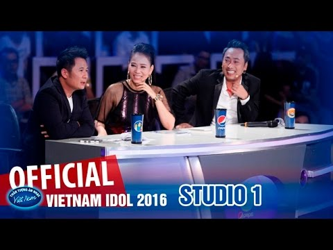 VIETNAM IDOL 2016 - STUDIO 1 - TOP 6 NAM - FULL HD