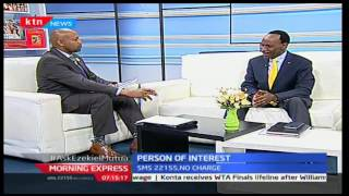 Morning Express: Ezekiel Mutua's value system and how they affect Kenyan films and music, 18/10/16