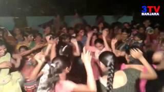 Banjara Girls and Ladies Group Dance on Band Sound in Marriage Barat || 3TV BANJARA