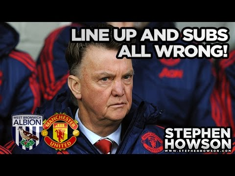 Line Up & Subs All Wrong | West Bromwich Albion 1-0 Manchester United | REVIEW | Goal; Rondon