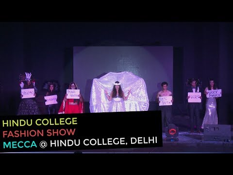 Verboten | Themed Fashion Show by Hindu College Students | Mecca 2016