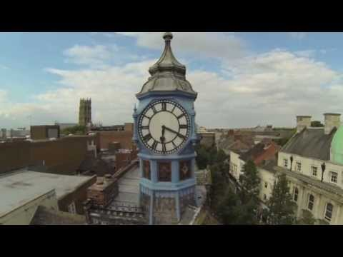 Doncaster Town Centre From The Air - FPV FLYING - TBS Discovery