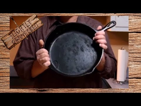 How to Clean a Dirty Cast Iron Pan