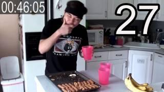 37 Mozzarella Sticks Eaten in 1-Minute (Ep #8 - 60 Second Series)