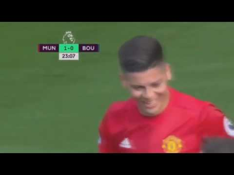 Marcos Rojo first goal in Premier League