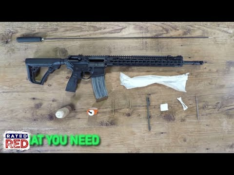 AR-15 Cleaning, Made Simple