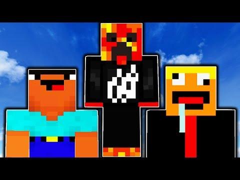 2 NOOBS VS PARKOUR PRO! Minecraft - PARKOUR w/ PrestonPlayz!