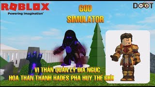 Roblox | Dozt Young Hades Bar Buffalo-God Simulator | DoztGaming
