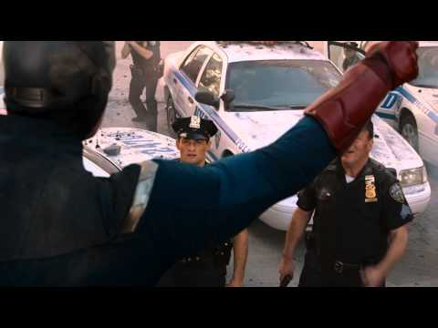 Captain America And The Police Officer - Avengers