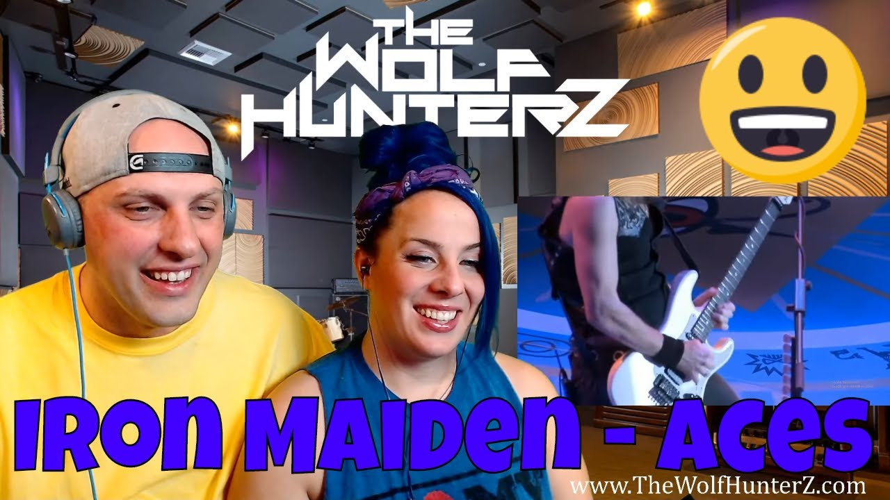 Download Iron Maiden - Aces {Flight 666) High [HD] THE WOLF HUNTERZ Reactions