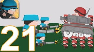CLONE ARMIES - Walkthrough Gameplay Part 21 - PvP ARENA (iOS Android)