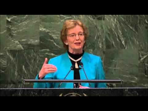 GC+15: General Assembly Session – Mrs. Mary Robinson, President, Mary Robinson Foundation
