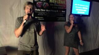 Lydia and Justin   Islands In The Stream {Karaoke by KeysDAN}