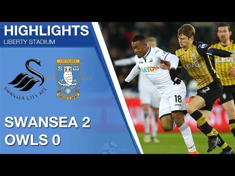 Swansea City 2 Sheffield Wednesday 0 | Extended highlights | FA Cup fifth round 2017/18