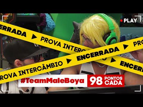 #EntubadosNoSony - Prova Intercâmbio - #TeamMaleBoya