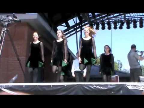 Ryan School of Irish dance with Lunasa