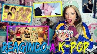 REAGINDO A K-POP  ( BTS, GOT7, GIRLS GENERATION) by Ashley