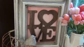 NEW!!! Gorgeous DIY LOVE sign Valentine's Day!