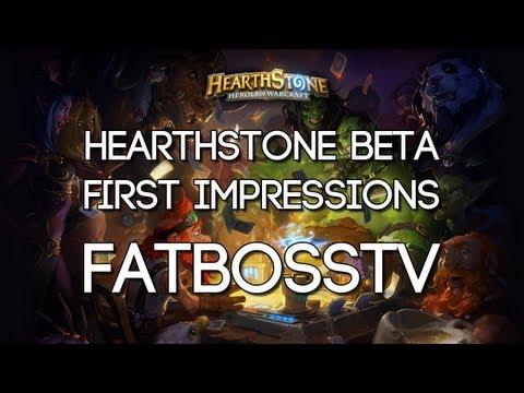 Hearthstone Beta: First Impressions - FATBOSS